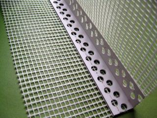 PVC保温护角网